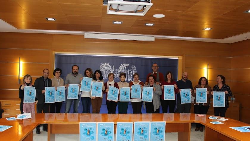 Presentación del evento en la sala de juntas del Ayuntamiento de El Ejido.