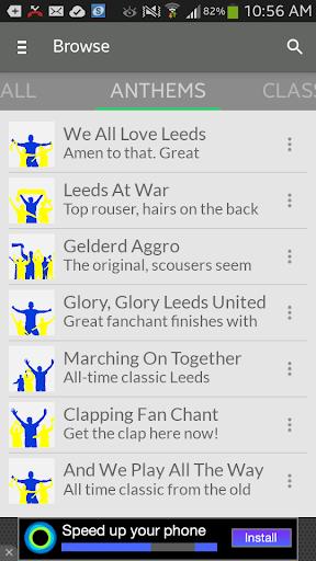 Leeds Football FanChants Free