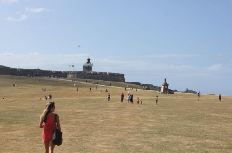 A look at the wide open spaces at El Morro.