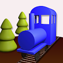 Toy Train 3D icon