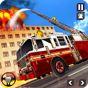 Fire Truck Driving Rescue 911 Fire Engine Games icon