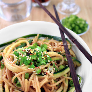 Healthy Ginger-Scallion Noodles