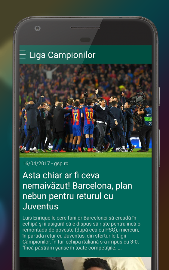Gazeta - Ştiri din sport- screenshot