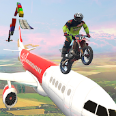 Bike sky stunt - Bike Stunt Game