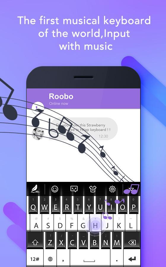 Screenshots of Hitap Keyboard emoji keyboard for iPhone