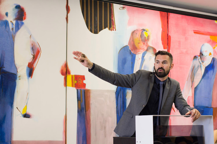 Ruarc Peffers, managing director and senior art specialist at Aspire Art Auctions