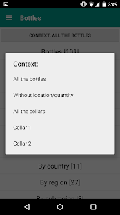 My cellars and tastes- screenshot thumbnail
