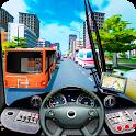 Coach Bus City Driving Simulator icon