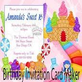 Birthday Invitation Card Maker Ideas