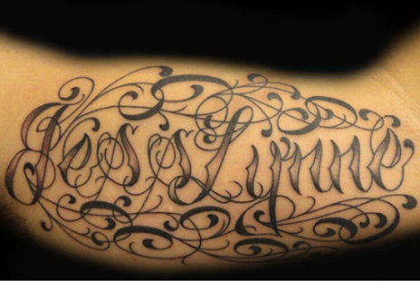 Font Tattoo Lettering Android Apps on Google Play
