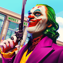 Grand Clown Crime City War: Gangster Crime Games icon