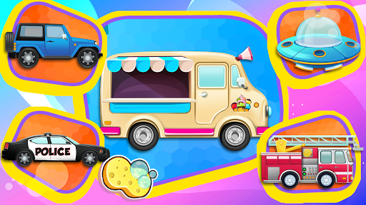 Car Games: Clean car wash game for fun & education screenshot 6