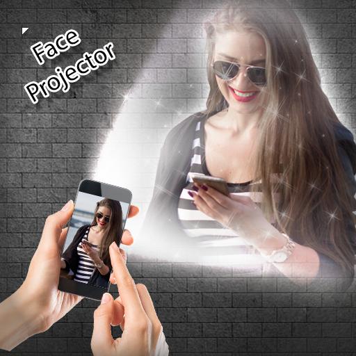 Face Projector Video Simulator