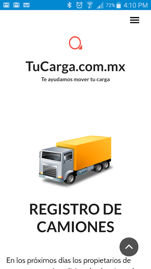 Tu Carga- screenshot