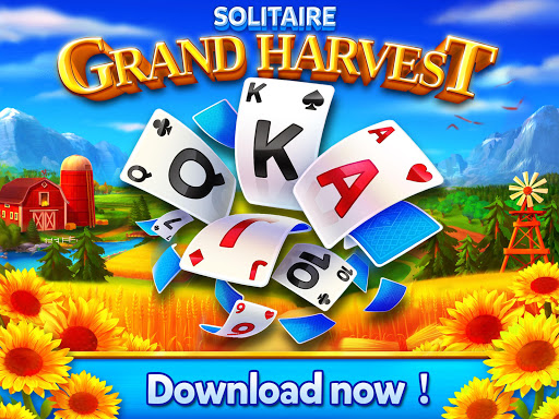 Solitaire - Grand Harvest - Tripeaks - screenshot