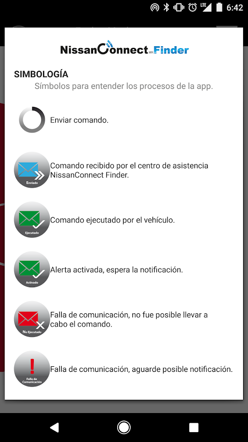 NISSANCONNECT FINDER- screenshot