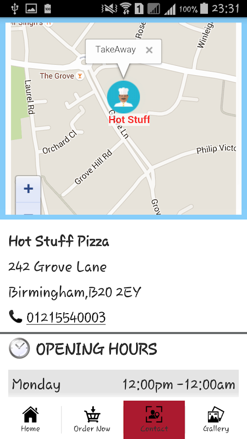 Hot Stuff Pizza Handsworth- screenshot