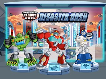 Transformers Rescue Bots: Disaster Dash APK screenshot thumbnail 1