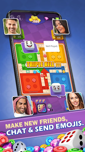 Ludo All Star - Online Fun Dice & Board Game apkpoly screenshots 9