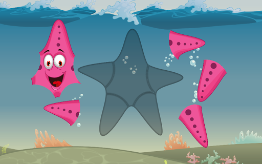 Puzzles for kids Ocean Animals  screenshots 3