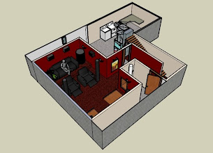 Photo: Update design: Removed walls and doors around laundry room.