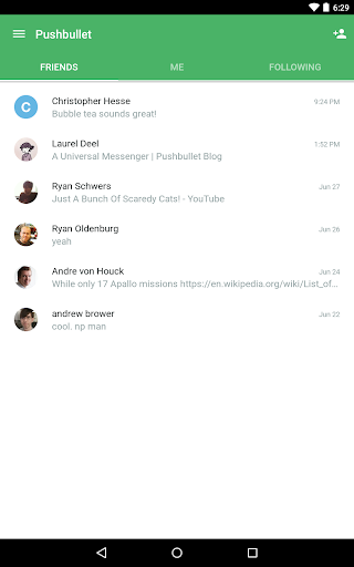 Pushbullet screenshot 11