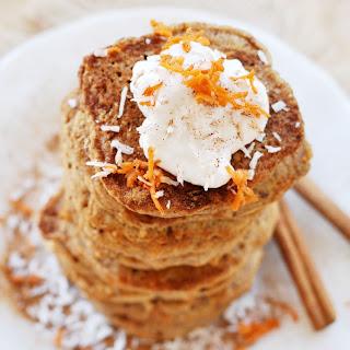 Vegan Carrot Cake Pancakes.