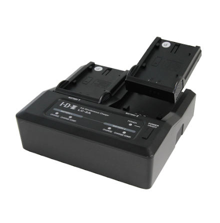 7.4V 2-Channel Charger LC-2A for 7,4V batteries - IDX