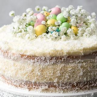 Coconut Cheesecake Cake.
