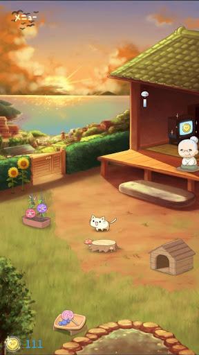 どうぶつの庭 - お昼寝どうぶつと睡眠ポケット旅行 Animal Poket Garden  captures d'écran 2