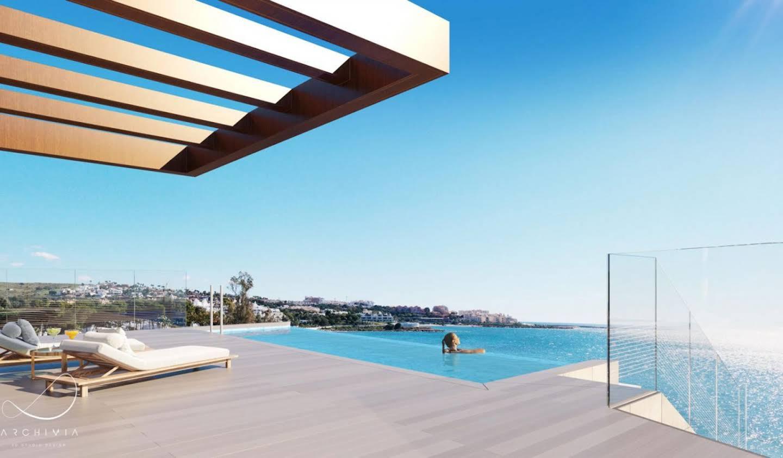Appartement avec terrasse et piscine Estepona
