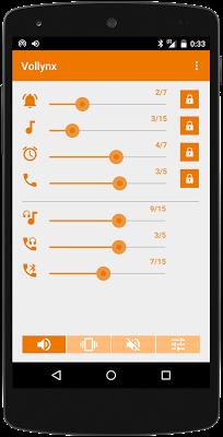Volume control - Vollynx - screenshot