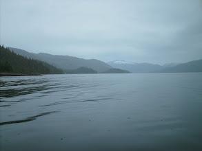 Photo: Eastern Passage heading north.