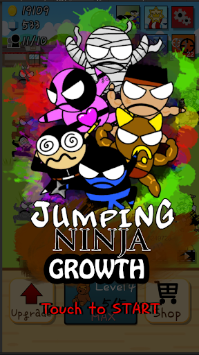 Ninja Growth - Brand new clicker game 1.8 screenshots 1