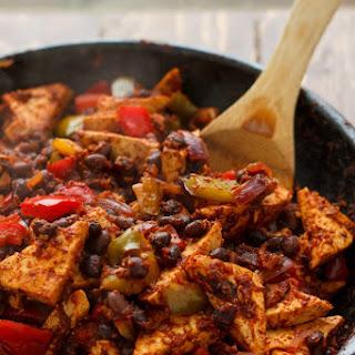 Spicy Tofu Quinoa Bowl