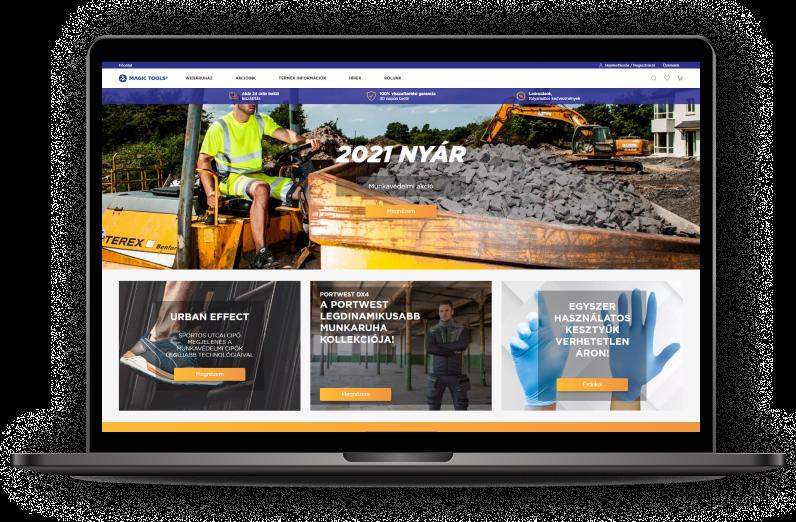 Elindult a Magic Tools B2B igényekre szabott webáruháza