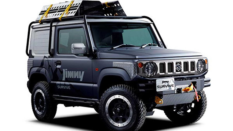 The Survive concept is accessorised to make it an even more hardcore trail-tackling vehicle. Picture: SUPPLIED