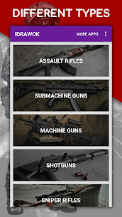 كيفية رسم الأسلحة خطوة بخطوة ، واستخلاص الدروس 5