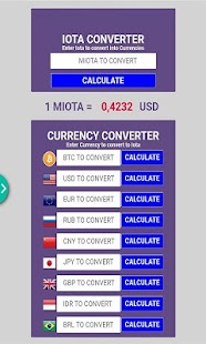 CONVERTER FOR IOTA CRYPTOCURRENCY - náhled