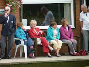 Photo: Vic Armstrong, Dulcie Marriott, Carole Davies, Shirley Jones, Jean Smith & Len Ryan.