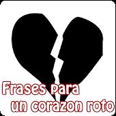 Frases para un corazon roto