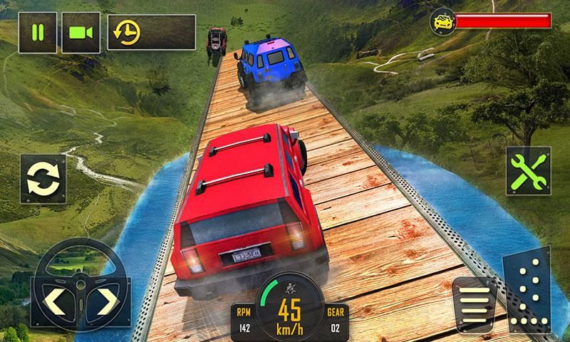 Downhill Extreme Driving 2017- screenshot