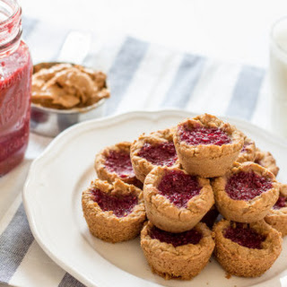 Peanut Butter and Jam Cookies - V + GF