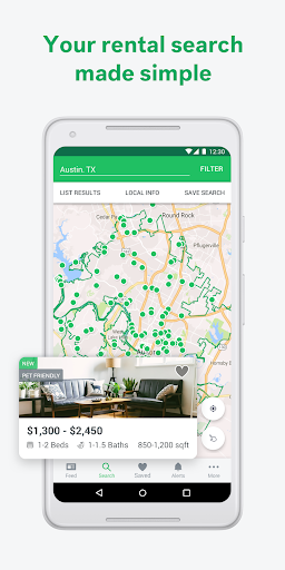 Trulia Rent Apartments & Homes 7.5.1 screenshots 1