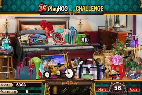 Challenge #215 Hotel Rooms New Free Hidden Objects - náhled