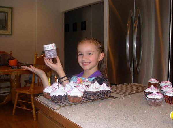 Grand Daughter And Grand Son Wanted To Surprise Daddy & Mom With A Party So We Made Grandma Barr's Wacky Cupcakes!