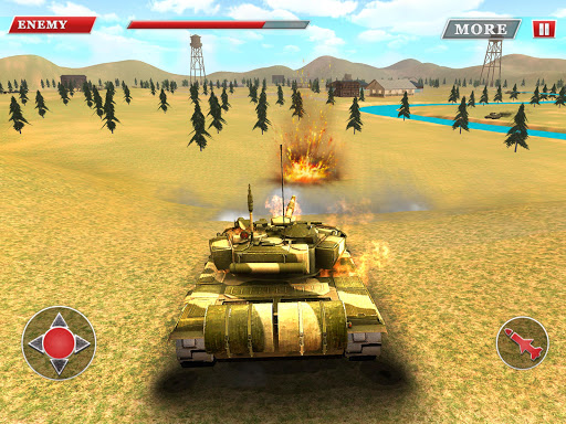 Battle Tanks Russia: Tank War Games APK 1.4 screenshots 5