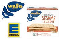 Angebot für Wasa Delicate Crisp Sesame & Sea Salt bei EDEKA im Supermarkt
