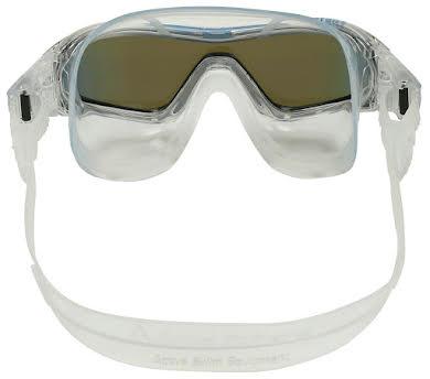 Aqua Sphere Vista Pro Goggles - Transparent w/ Blue Titanium Mirro Lens alternate image 0