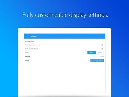 iSeller Customer Display - náhled